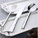 竹节系列高端不锈钢西餐具